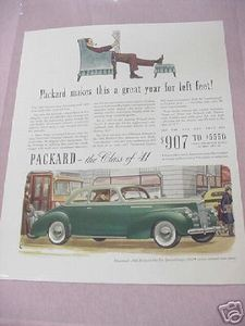 1941 Ad 1941 Packard One-Ten Special Coupe