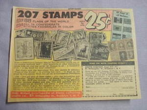 1962 Ad Zenith Stamp Co., Brooklyn, N.Y.