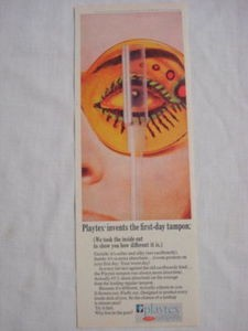 1969 Ad Playtex Tampons Playtex Invents the First Day Tampon