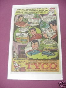 1966 Tyco Ad Speedways & Petticoat Junction Train Set