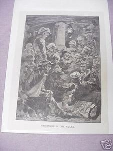 War of 1812 Prisoners in Hulks 1887 Illustrated Page
